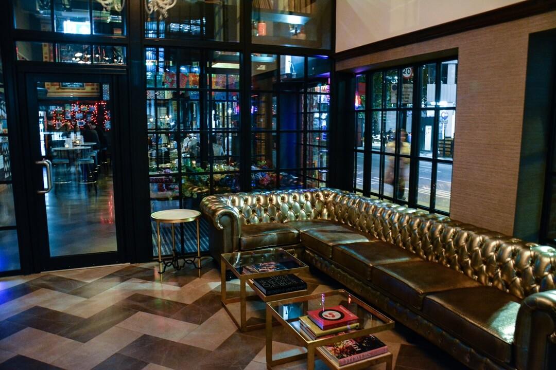 The Curtain Hotel London - Eingansbereich