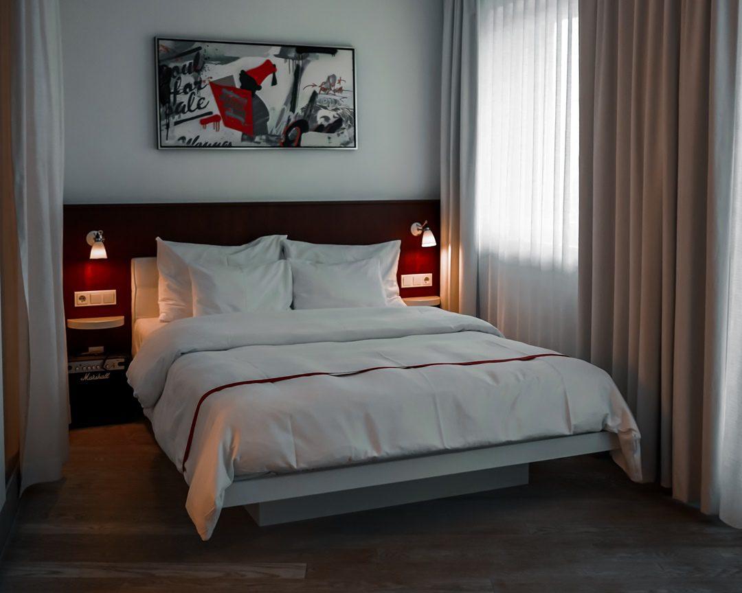 Bett Loft Room - Ruby Marie Hotel Wien