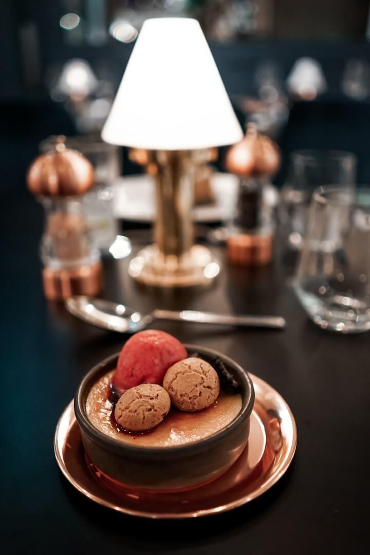 10 Fleet Street Restaurant Creme Brulee