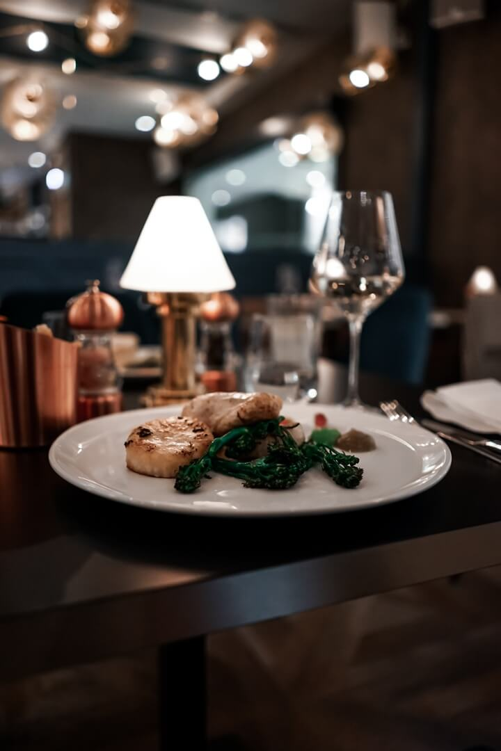 10 Fleet Street Restaurant Fried Fillet of Monkfish