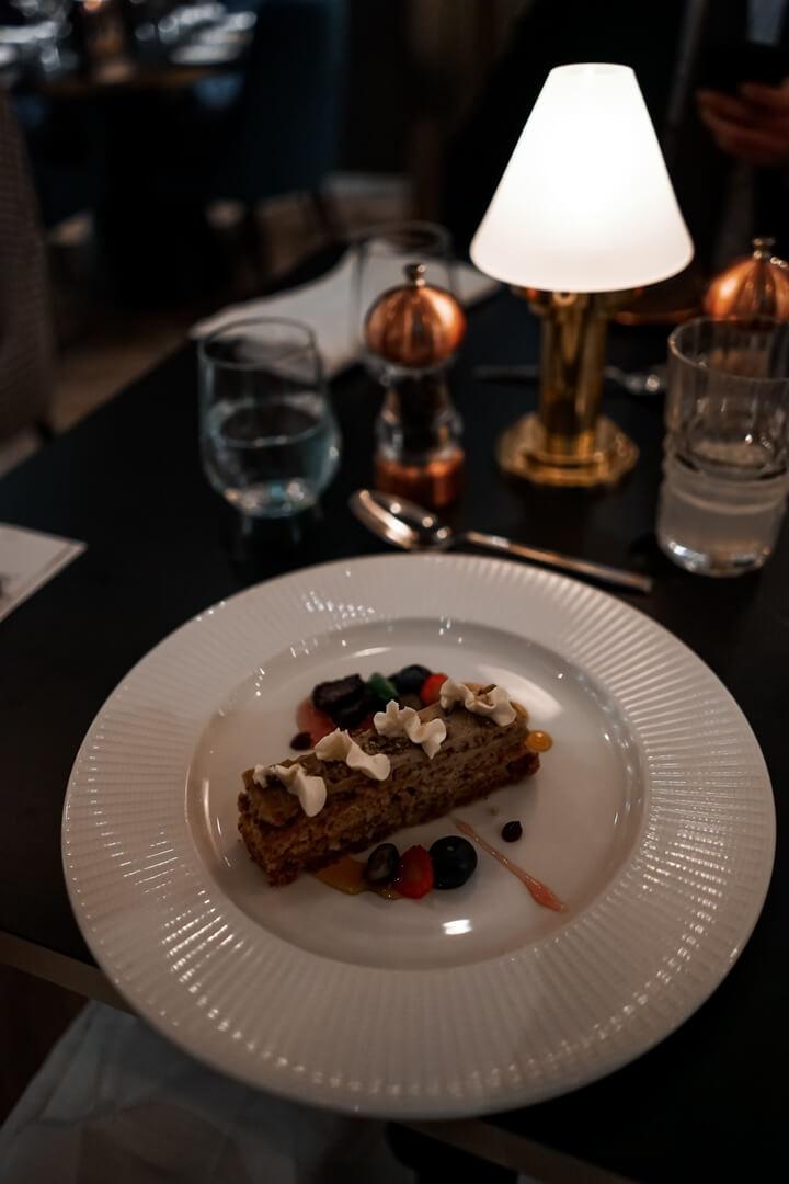 10 Fleet Street Restaurant Hazelnut Mocha