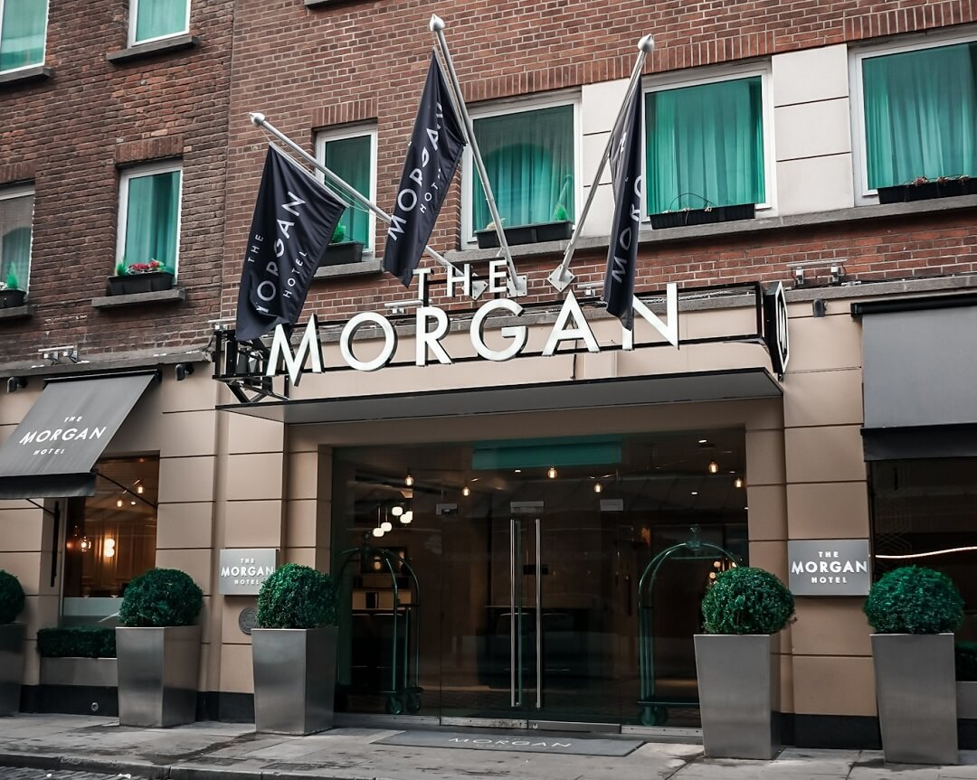The Morgan Hotel Dublin Eingang
