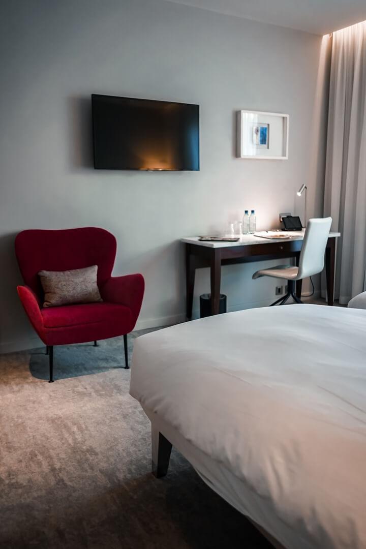 The Morgan Hotel Dublin Deluxe Zimmer