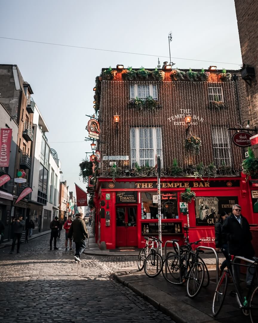 Dublin - Stadtgebiet Temple Bar