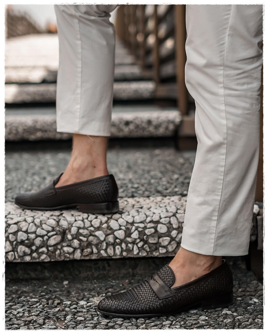 Scarosso Loafer & Hackett London Chino