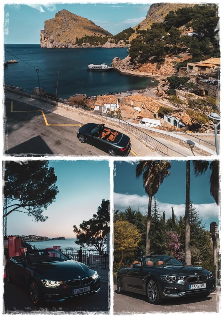 BMW 4er Cabrio - 420i Impressionen Palma de Mallorca
