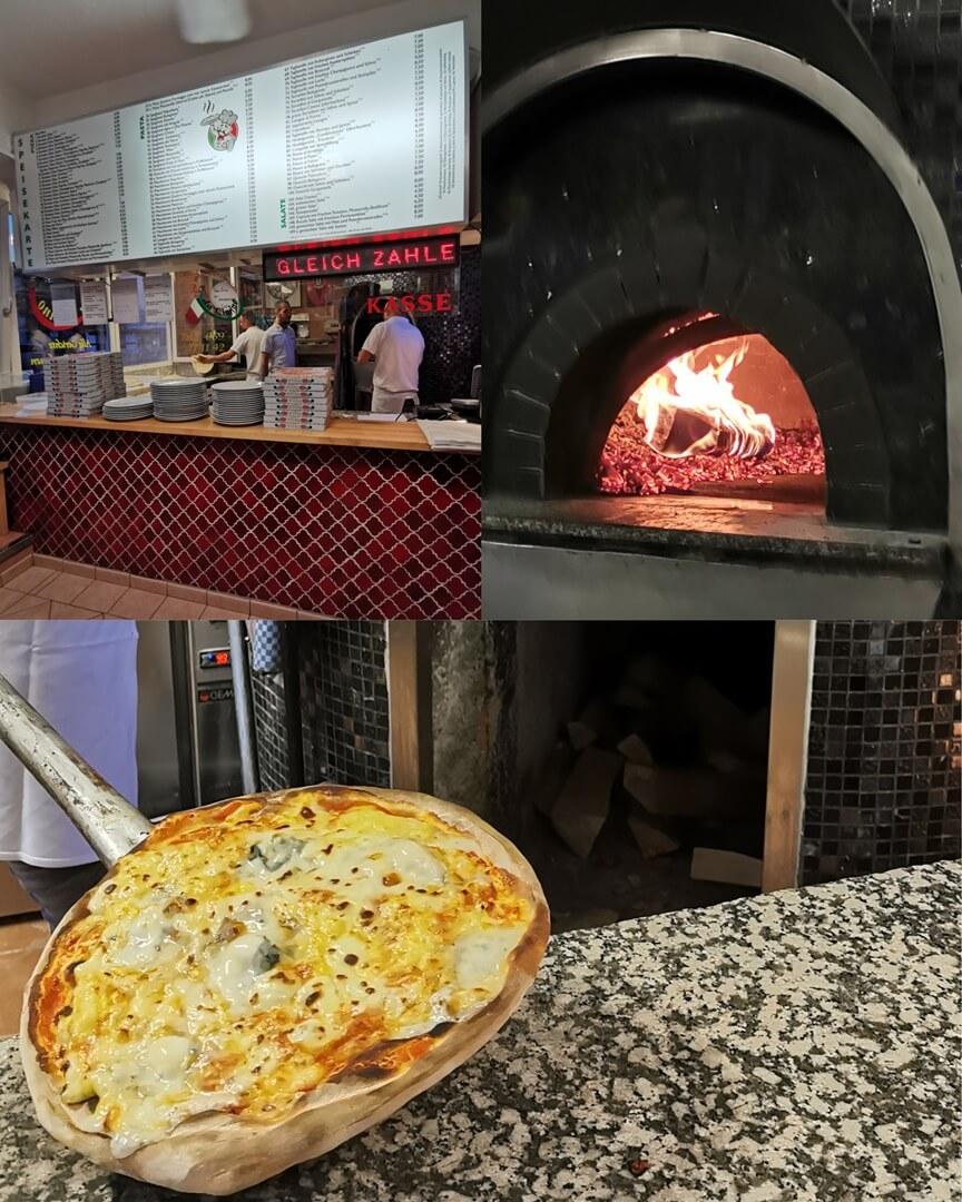 Da Cimino Pizzeria Frankfurt - Quattro Formaggi Pizza