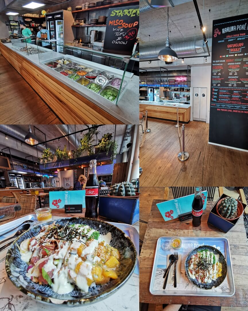 Kahuna Poke Bros Frankfurt Ostend - Tuna Mango Bowl
