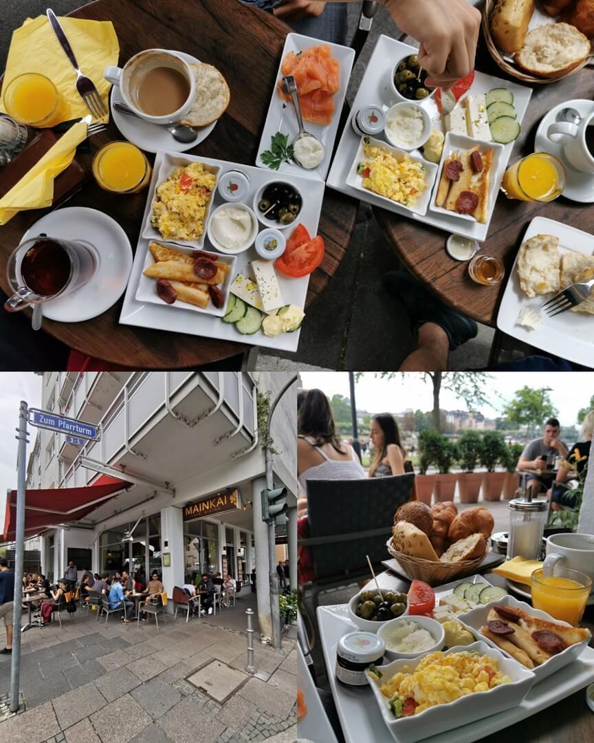 Mainkai Cafe am Mainufer