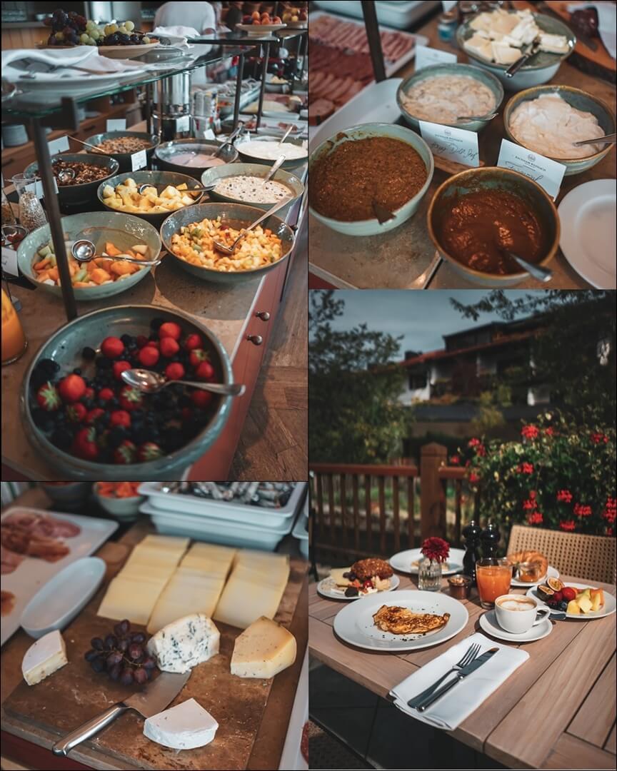 Frühstück Angebot Bachmair Weissach Hotel