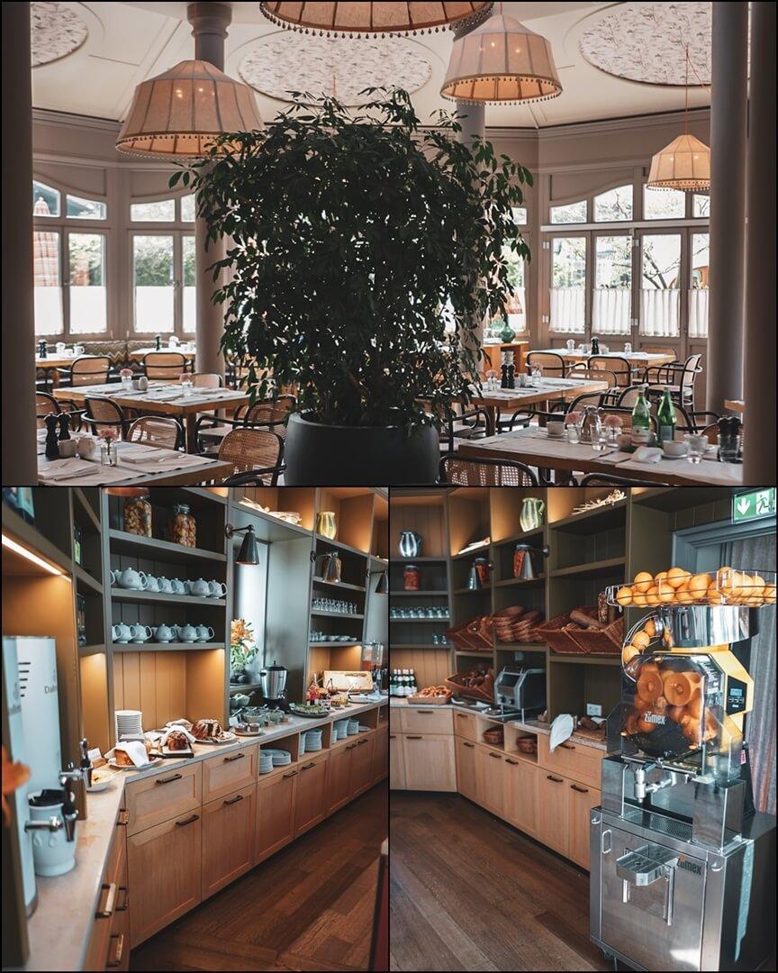 Frühstücksraum Bachmair Weissach Hotel