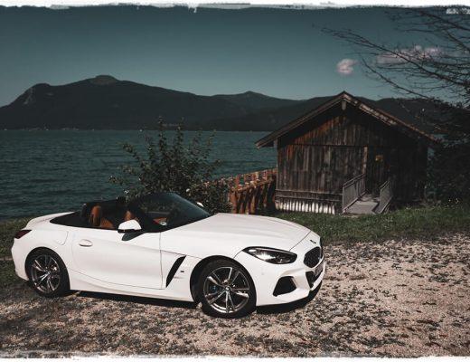 BMW Z4 sDrive 20i M Sport am Walchensee