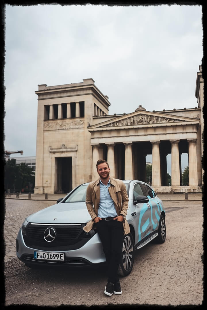 Mercedes Benz EQC 400 & Ich - Emre x emvoyoe