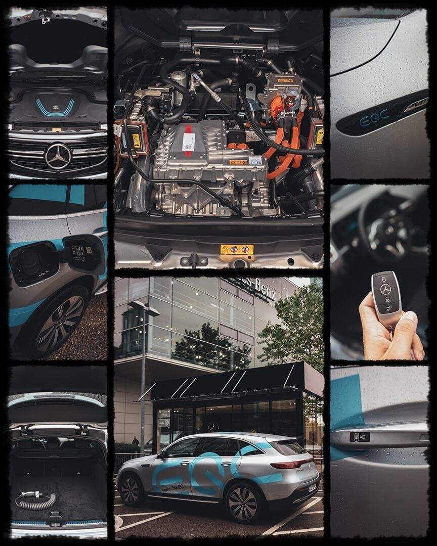 Mercedes Benz EQC 400
