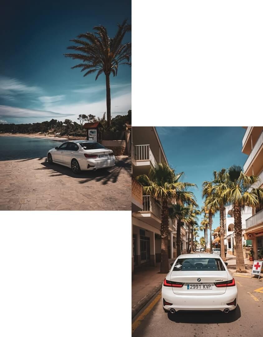 Der neue 3er BMW - 320d Sport Line Heckansicht