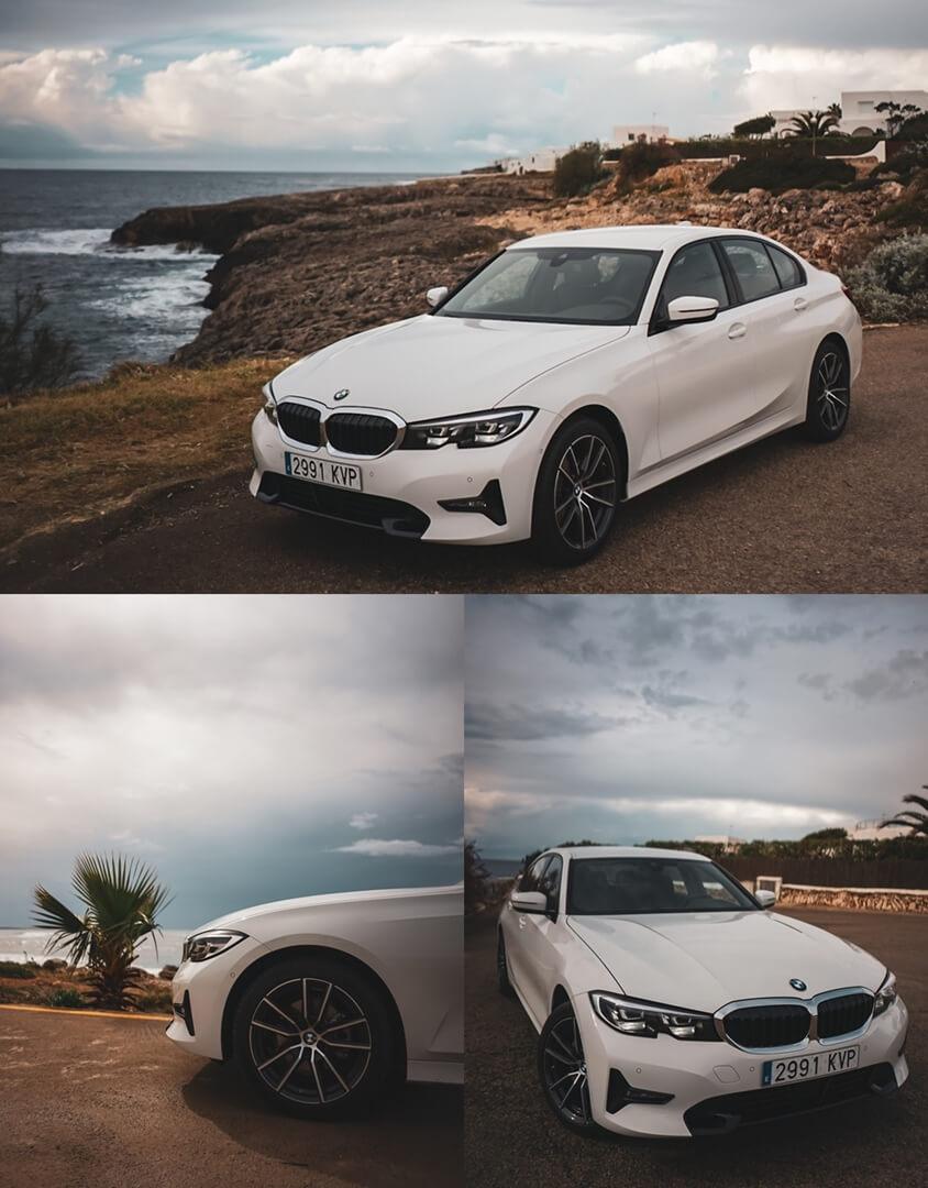 Der neue 3er BMW - 320d Sport Line Exterieur