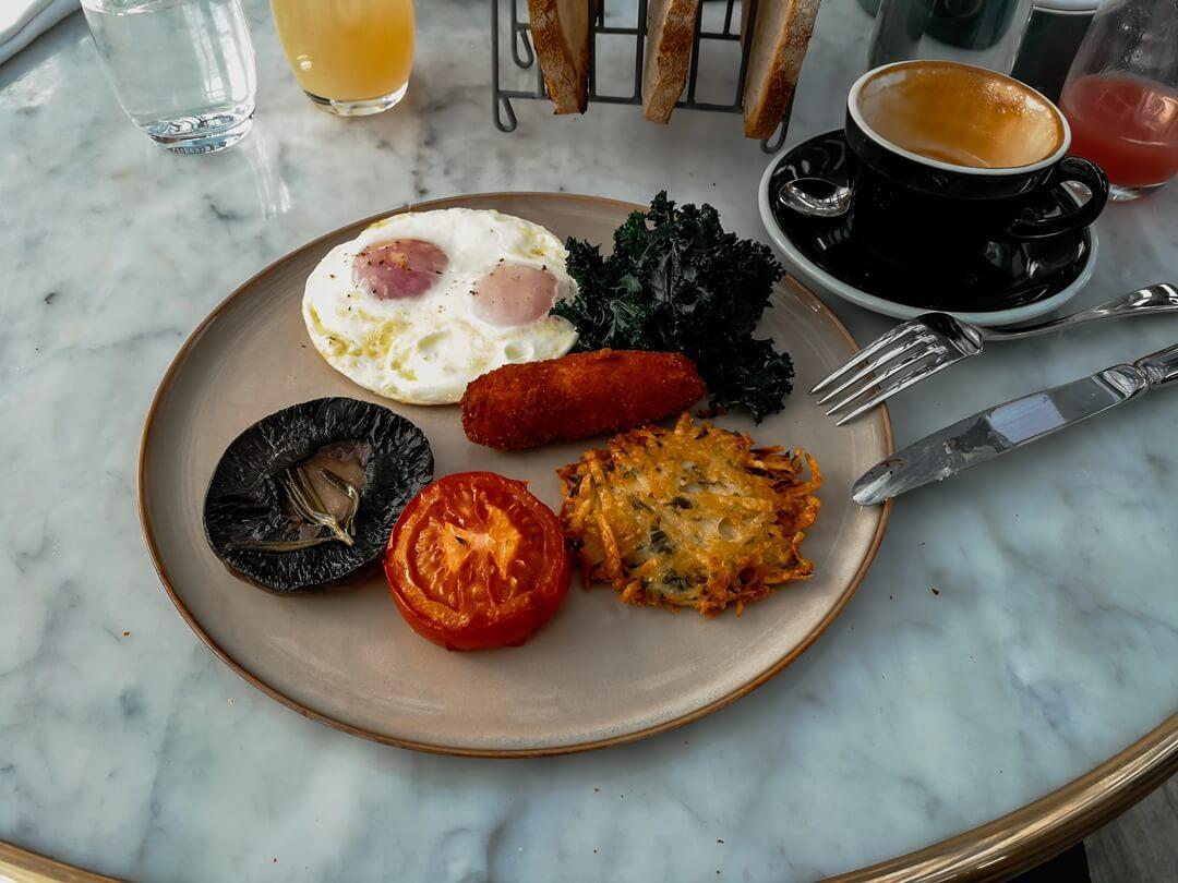 Frühstück im Lido Rooftop Restaurant