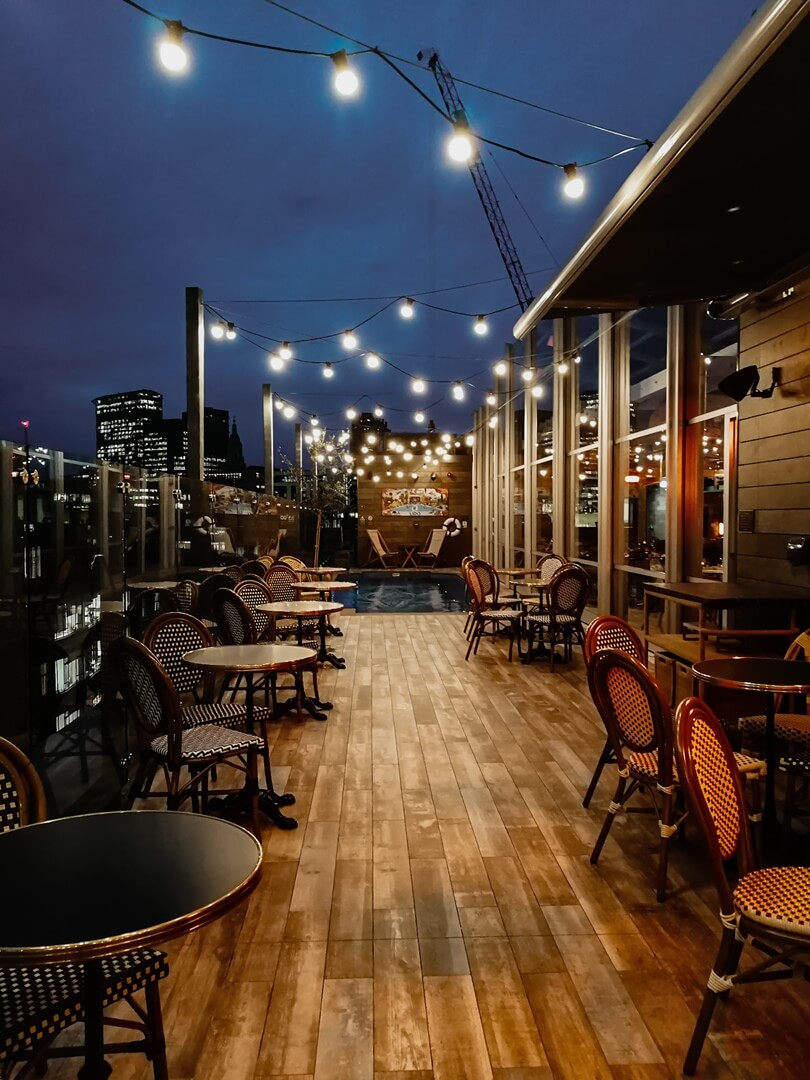 The Curtain Hotel London - Lido Rooftop Brasserie