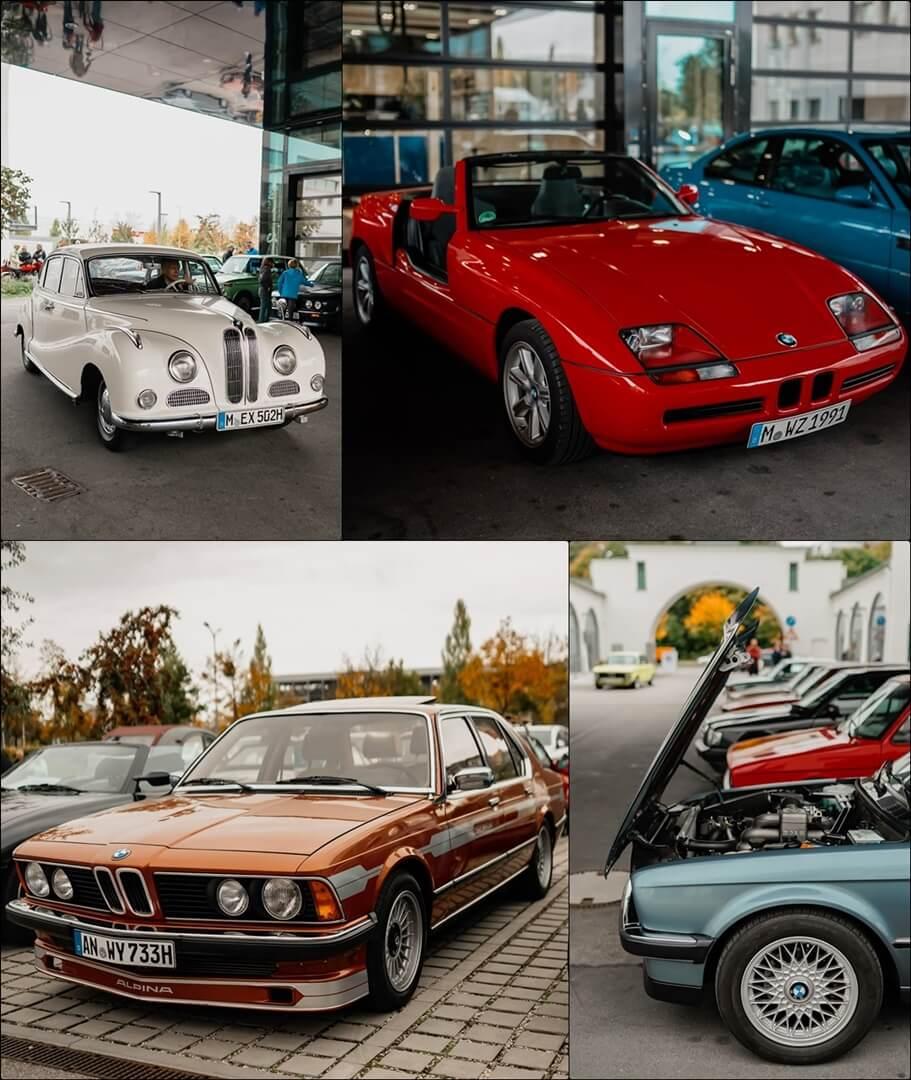 BMW Oldtimer auf der Wheels & Weißwürscht