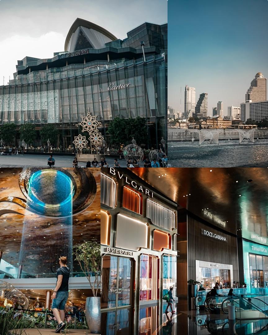 ICONSIAM Einkaufszentrum in Bangkok