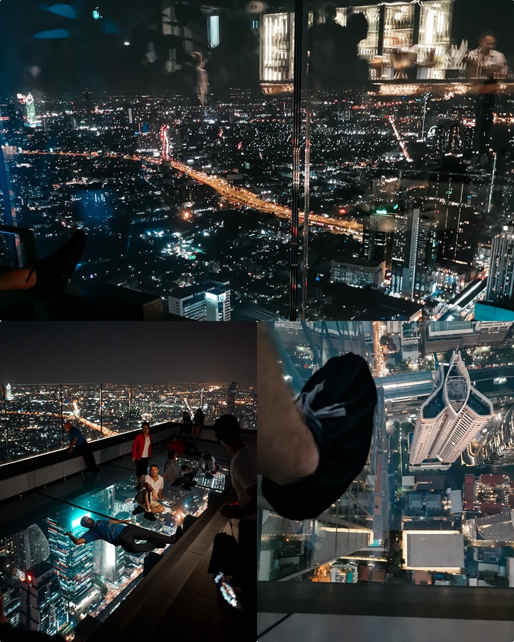 Mahanakhon Skywalk & Bar in Bangkok