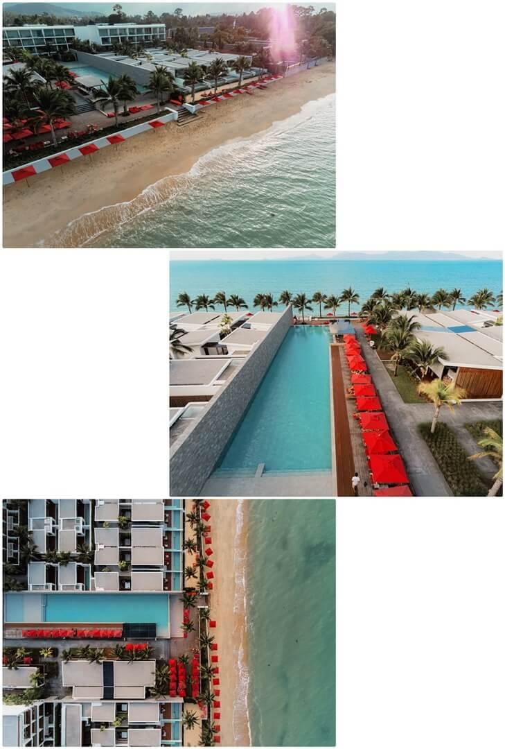 Resortanlage & Maenam Beach