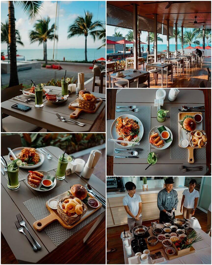 Mittagessen und Kochkurs im hoteleigenen Restaurant