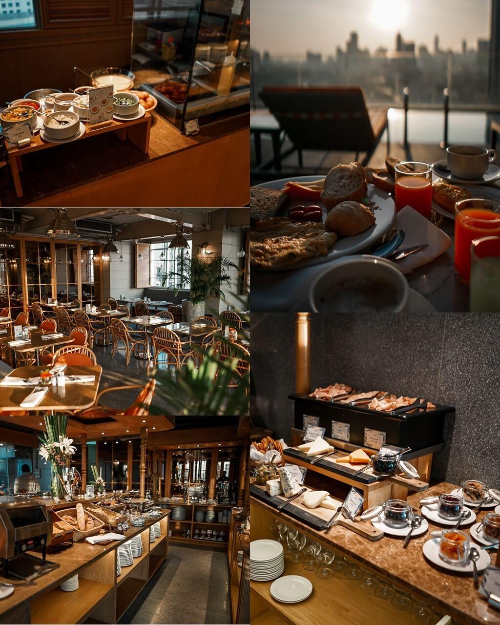 Akara Hotel Bangkok Frühstücksbuffet