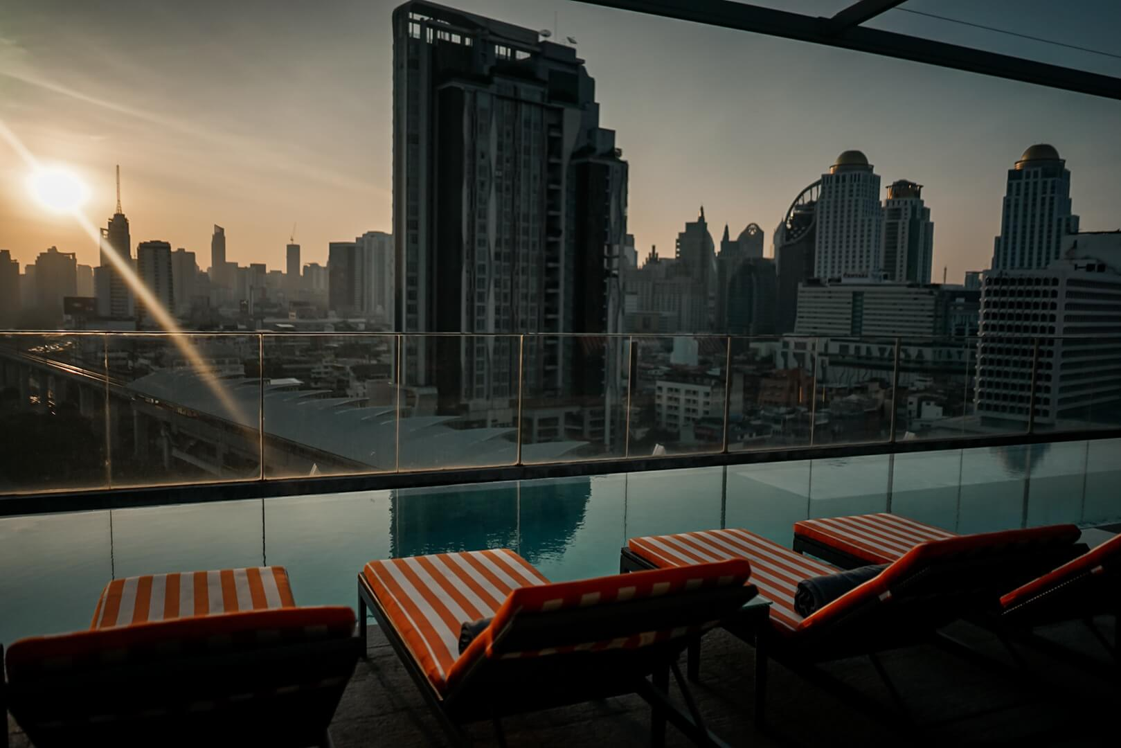 Akara Hotel Bangkok Rooftop Pool