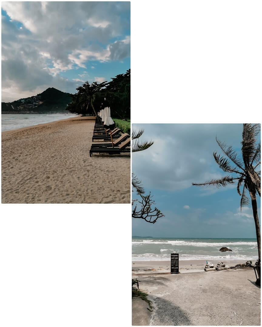 Chaweng Noi & Crystal Beach in Koh Samui