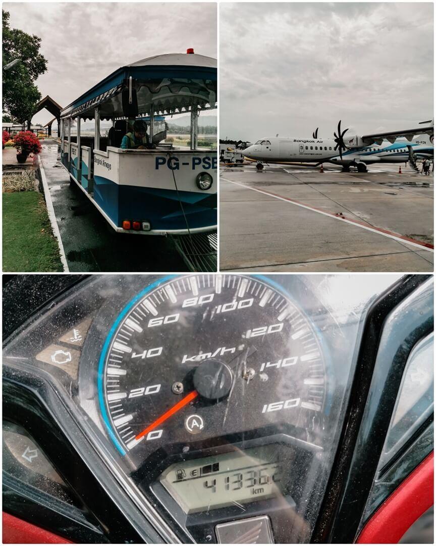 Flughafen USM Koh Samui - Bangkok Airways & Rolleranmietung
