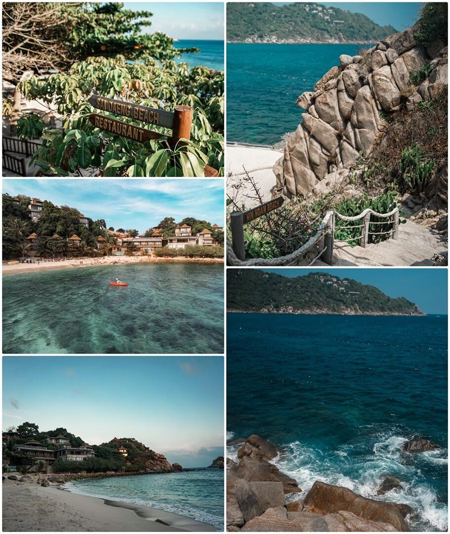 Links: Sai Daeng Beach, Rechts: Hin Ngam Beach