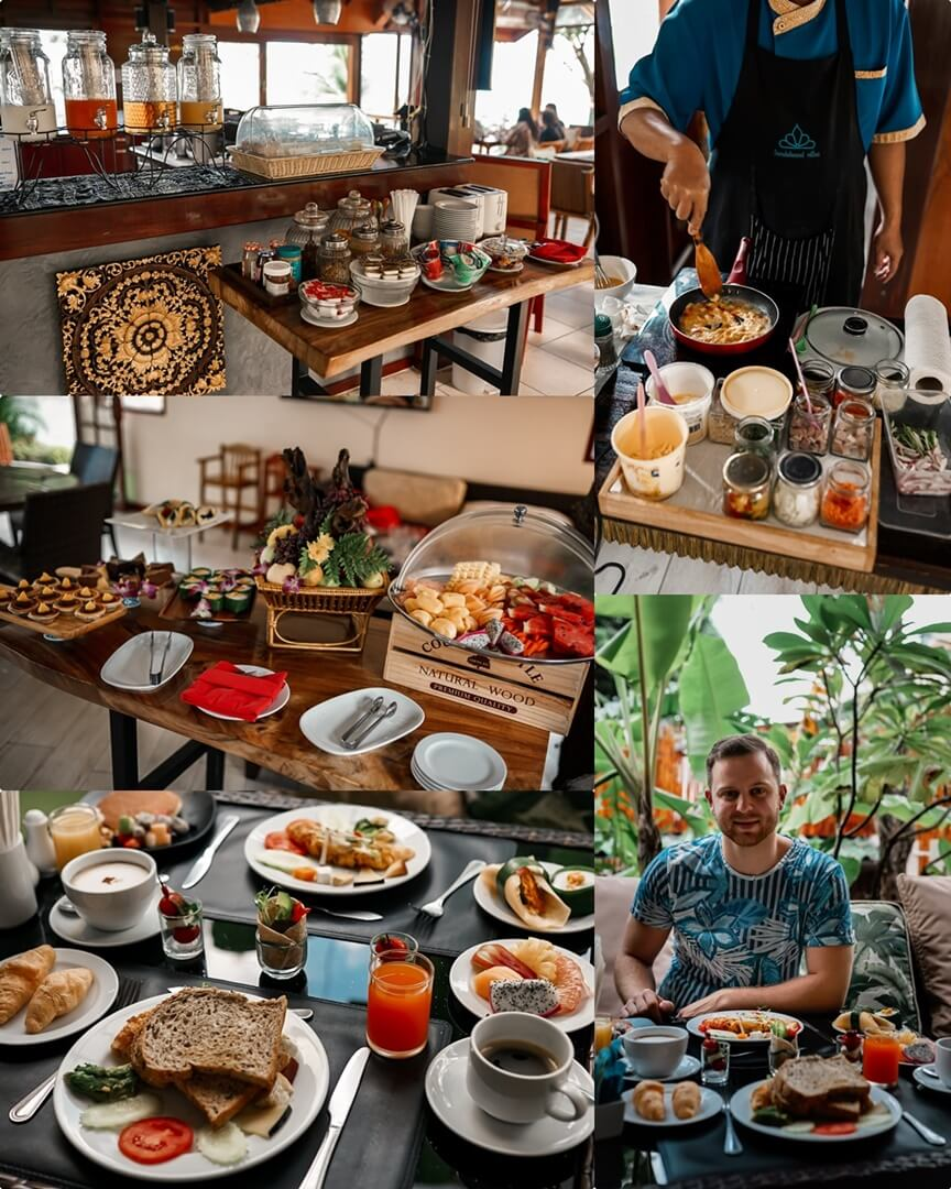 Blue Ginger Frühstück & Buffet