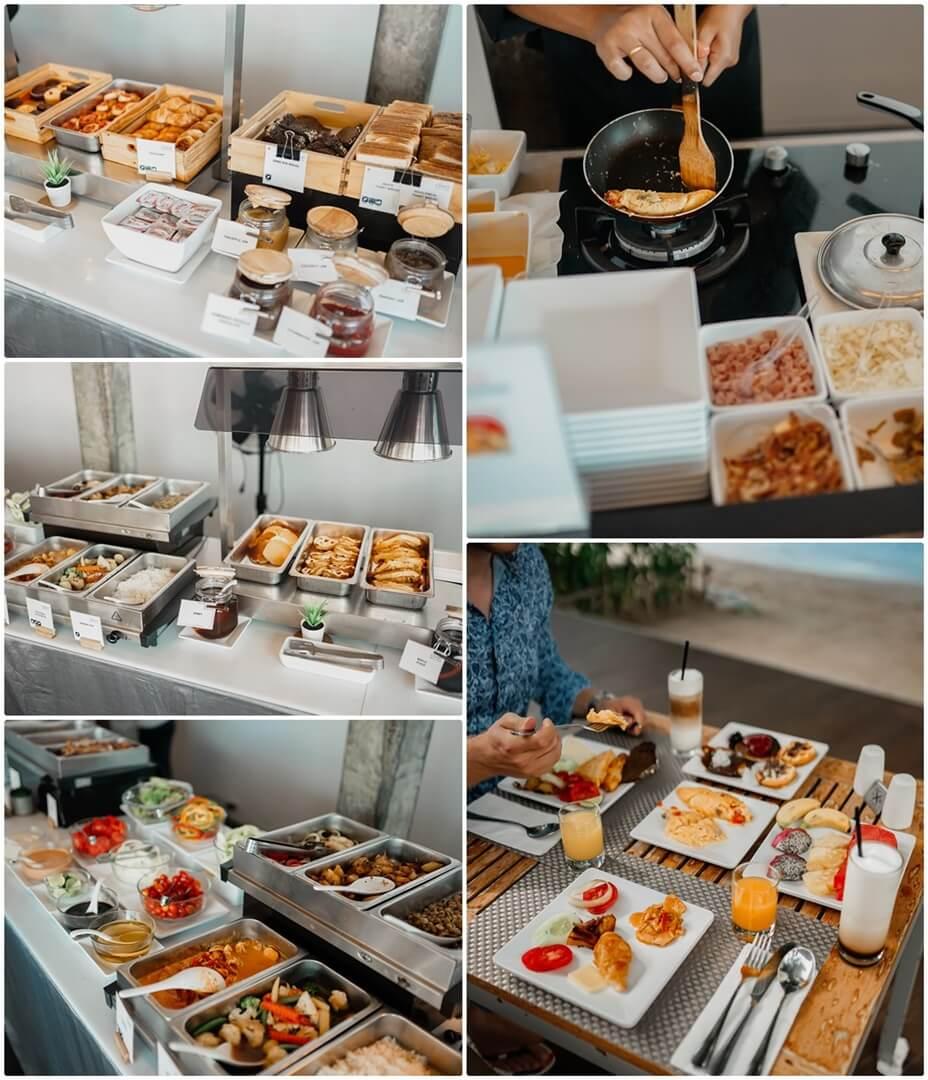 The Coast Koh Phangan Frühstück & Buffet