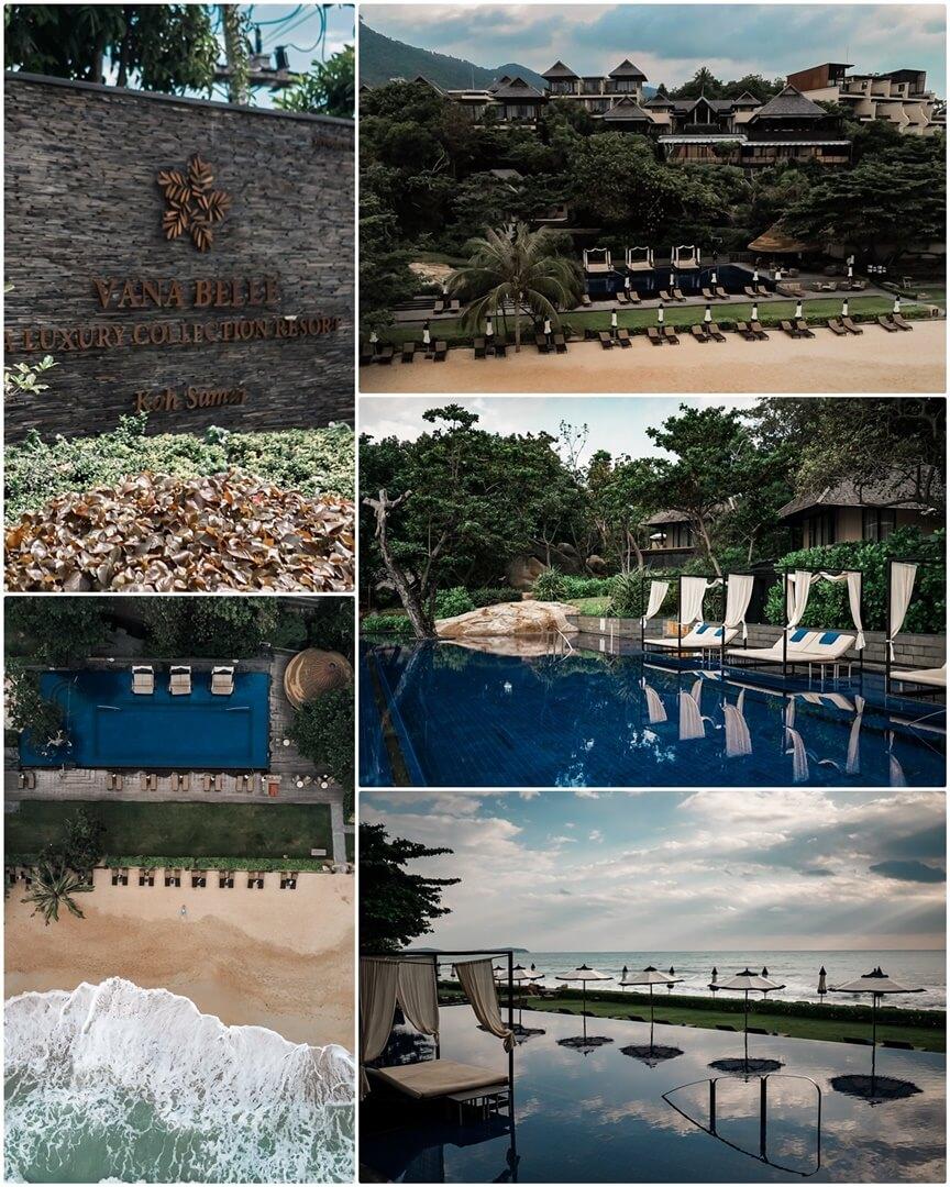Vana Belle Beachfront Infinity Pool & Hotelanlage in Koh Samui