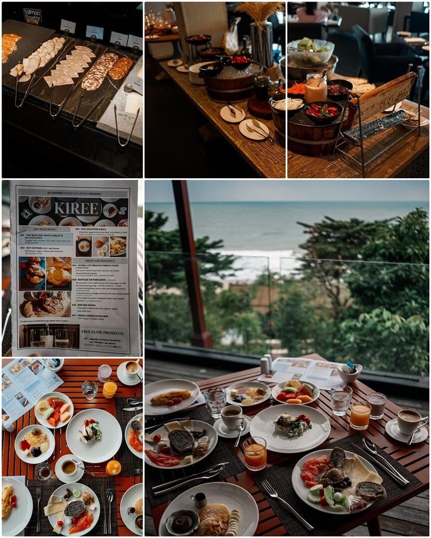Frühstück im Kiree Restaurant - Vana Belle Resort Koh Samui