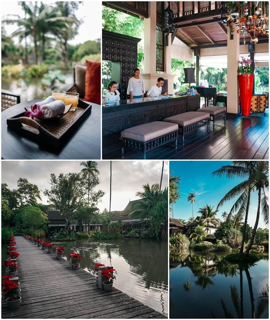 Welcome Drink & Check-In Counter im Anantara Mai Khao Phuket Villas