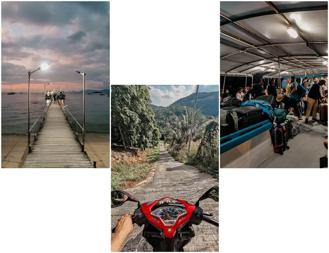 Anreise und Roller auf Koh Phangan - Tipps & Empfehlungen