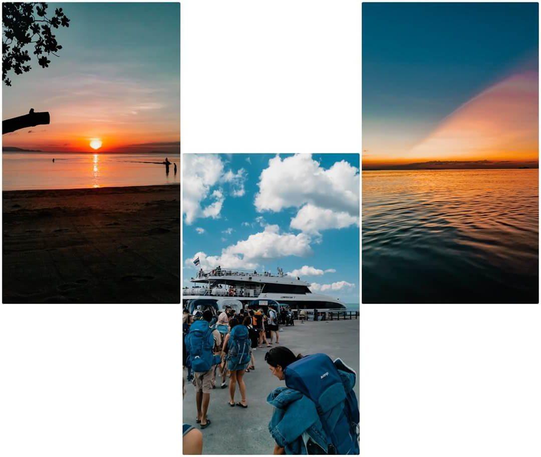 Sonnenuntergänge und Abreise aus Koh Phangan - Tipps & Empfehlungen