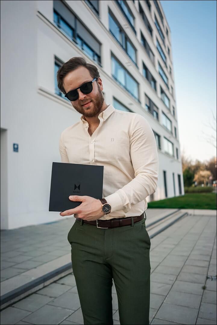 Frühlings Outfit für Herren 2020 - MVMT 15% Rabatt Code: emvoyoe15