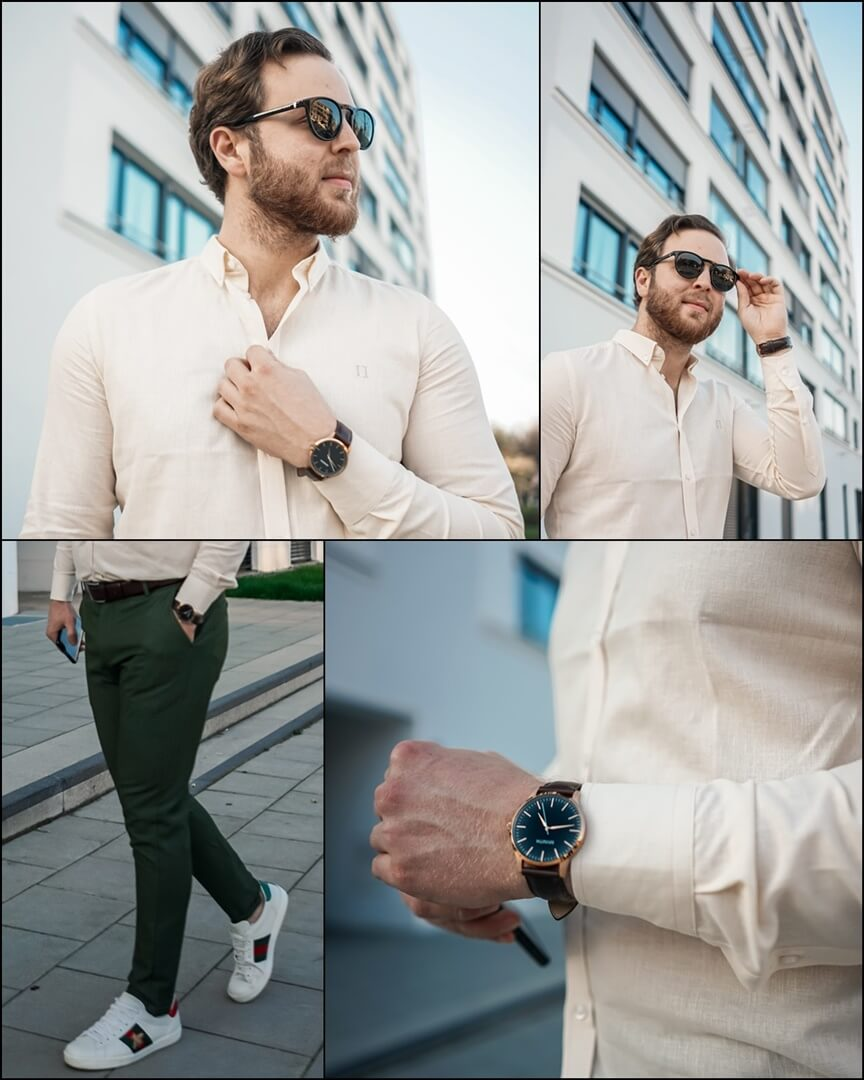BOSS Sonnenbrille Style: 1083/S 26O, GUCCI Ace Sneaker, MVMT 40 Series Rose Gold Brown