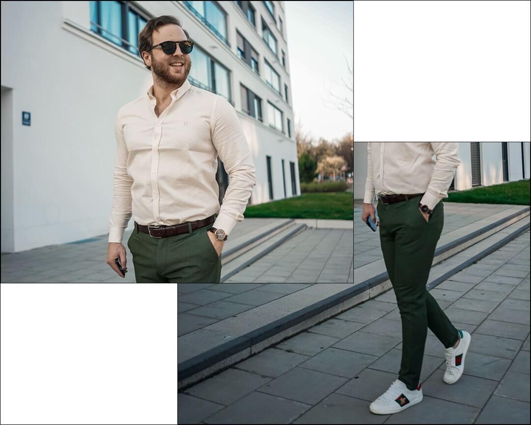 Frühlings Outfit für Herren 2020 - Mode Vorschlag für Ihn