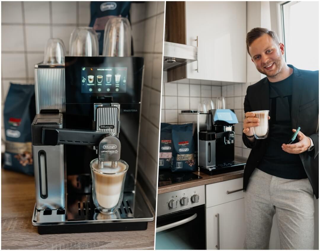 DeLonghi Maestosa Kaffeevollautomat Erfahrung