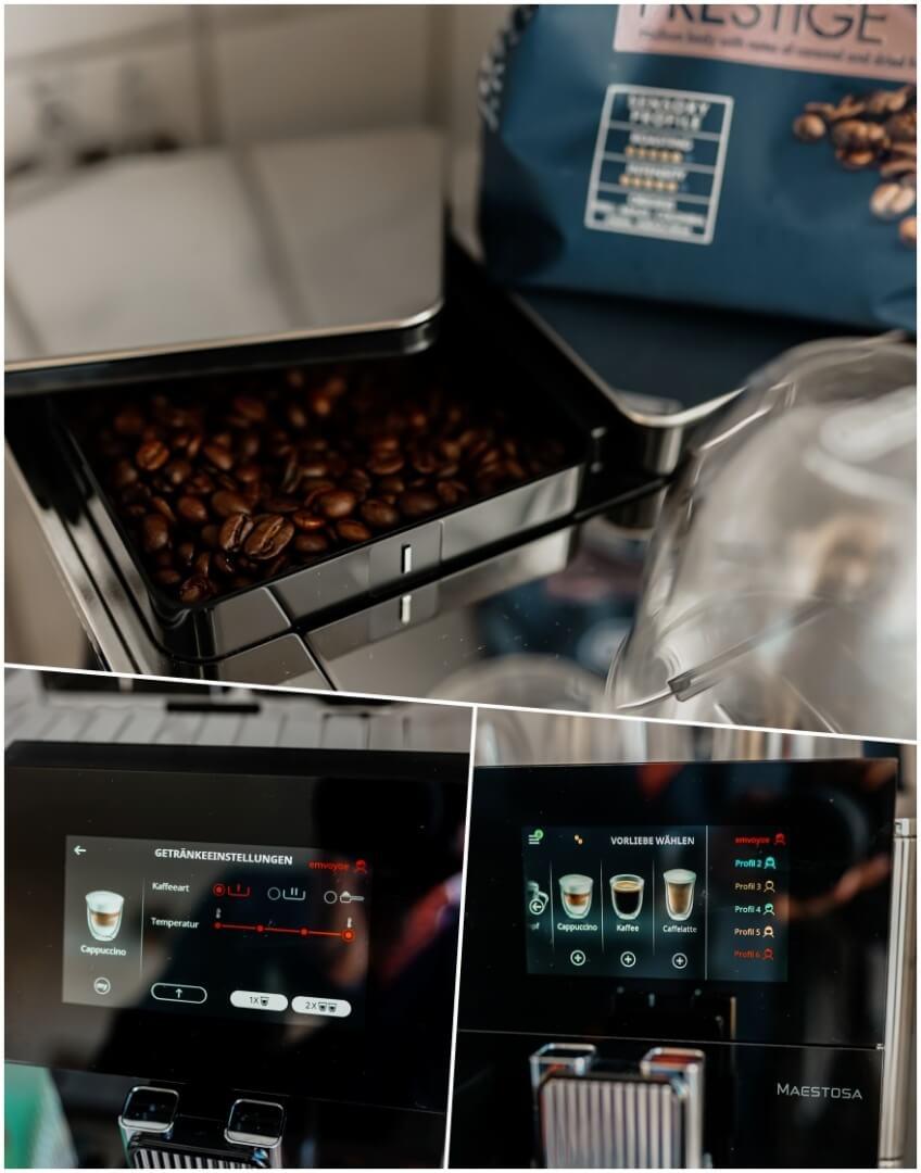Touch Display & individuelle Profile einstellbar