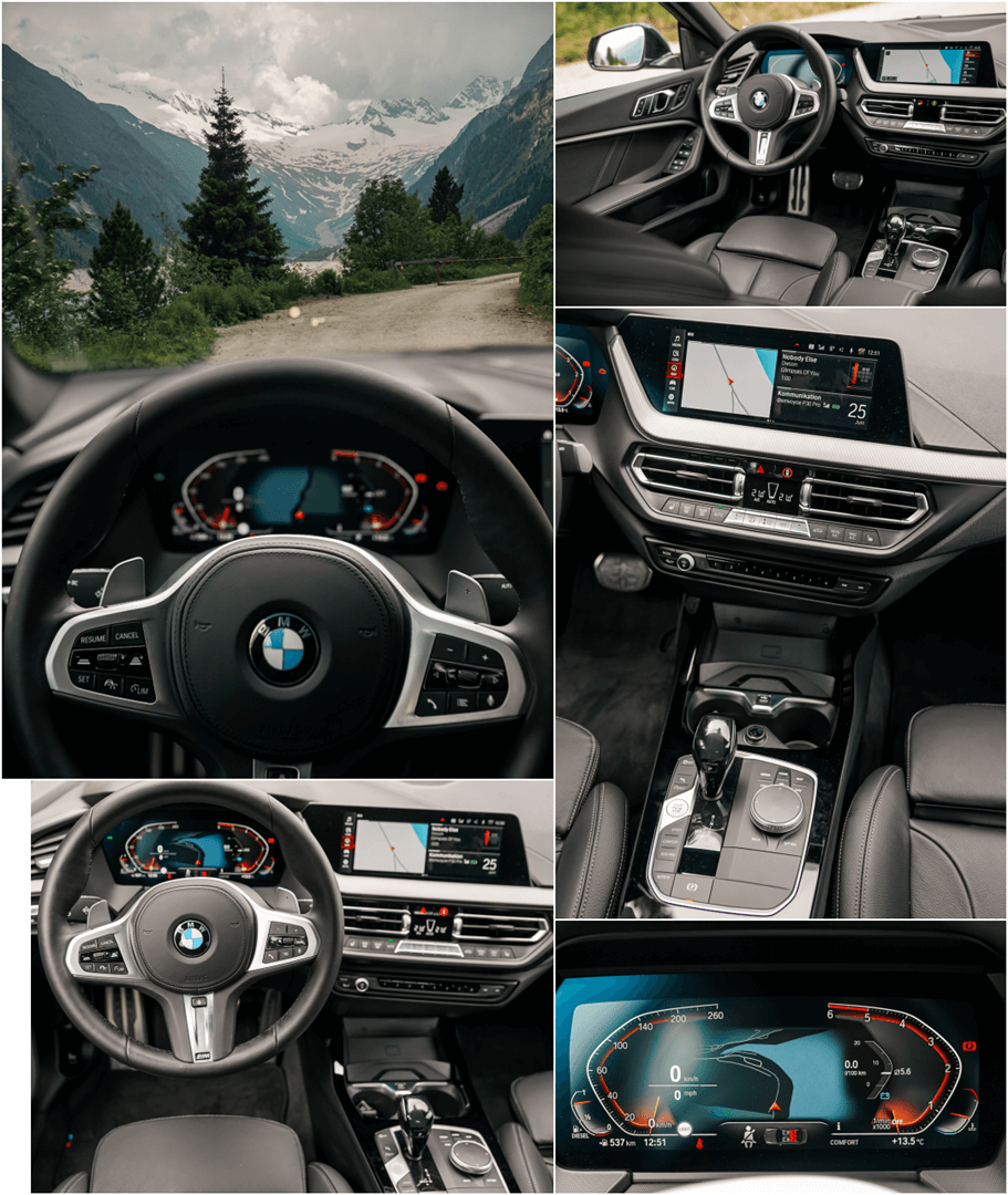 "BMW Live Cockpit Professional mit 10,25"" Instrumentendisplay & 10,25"" Control Touch Display im 2er Gran Coupé"