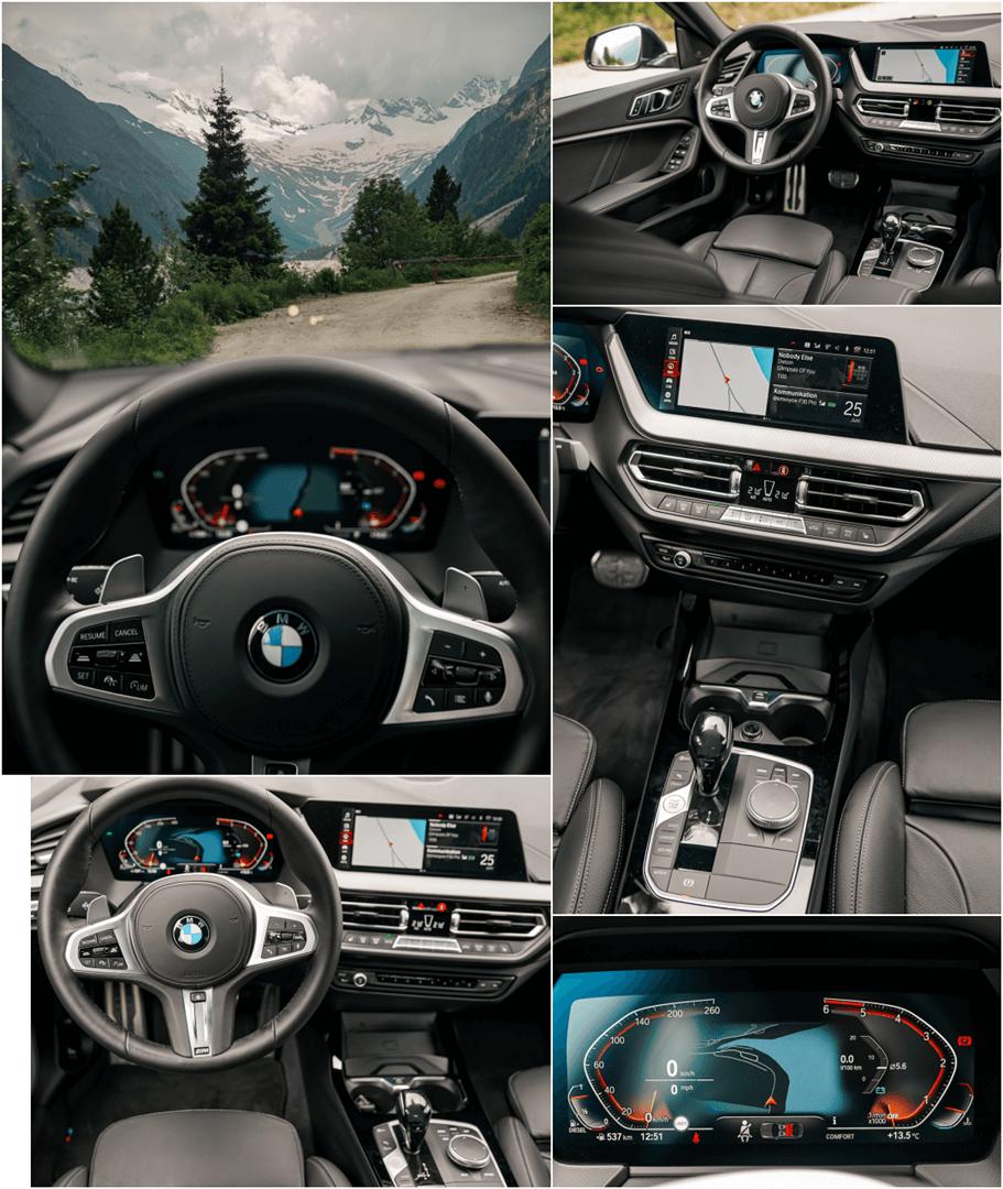 "BMW Live Cockpit Professional mit 10,25"" Instrumentendisplay & 10,25"" Control Touch Display im 2er Gran Coupé"