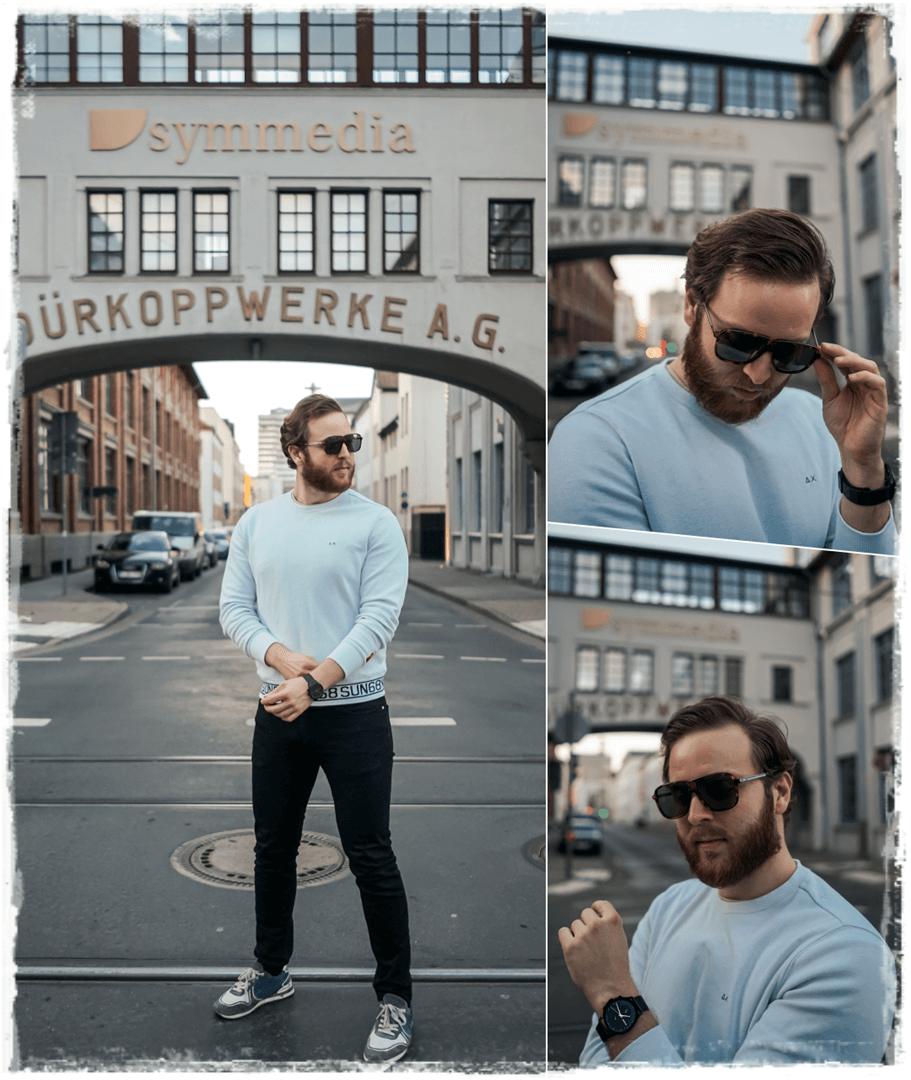 HUGO HG1090S Sonnenbrille ganz lässig zum tragen