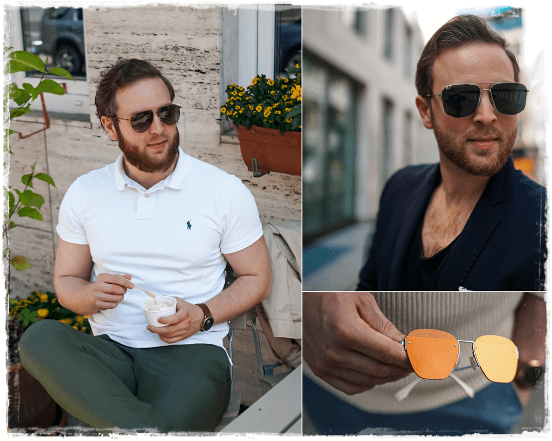 Herren Sonnenbrillen Sommer Trends 2020 für Männer