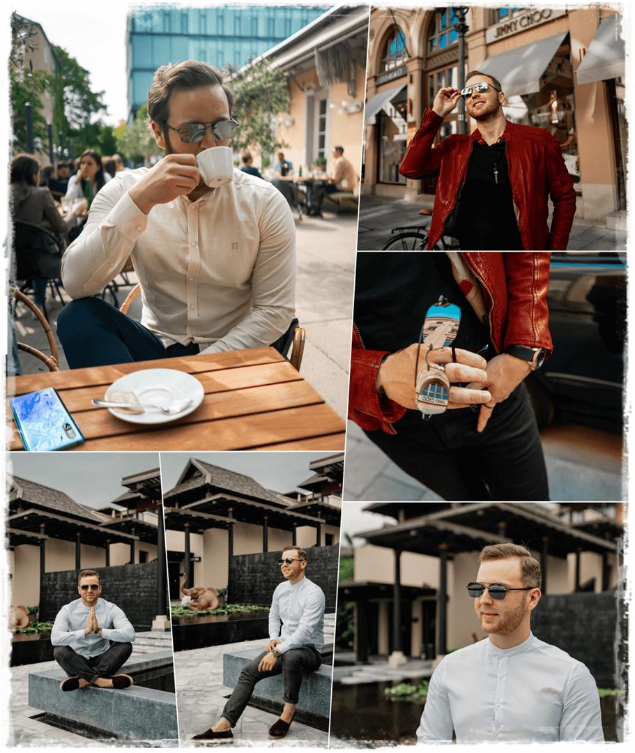Jimmy Choo Men KIT Sonnenbrille für den selbstbewussten Mann