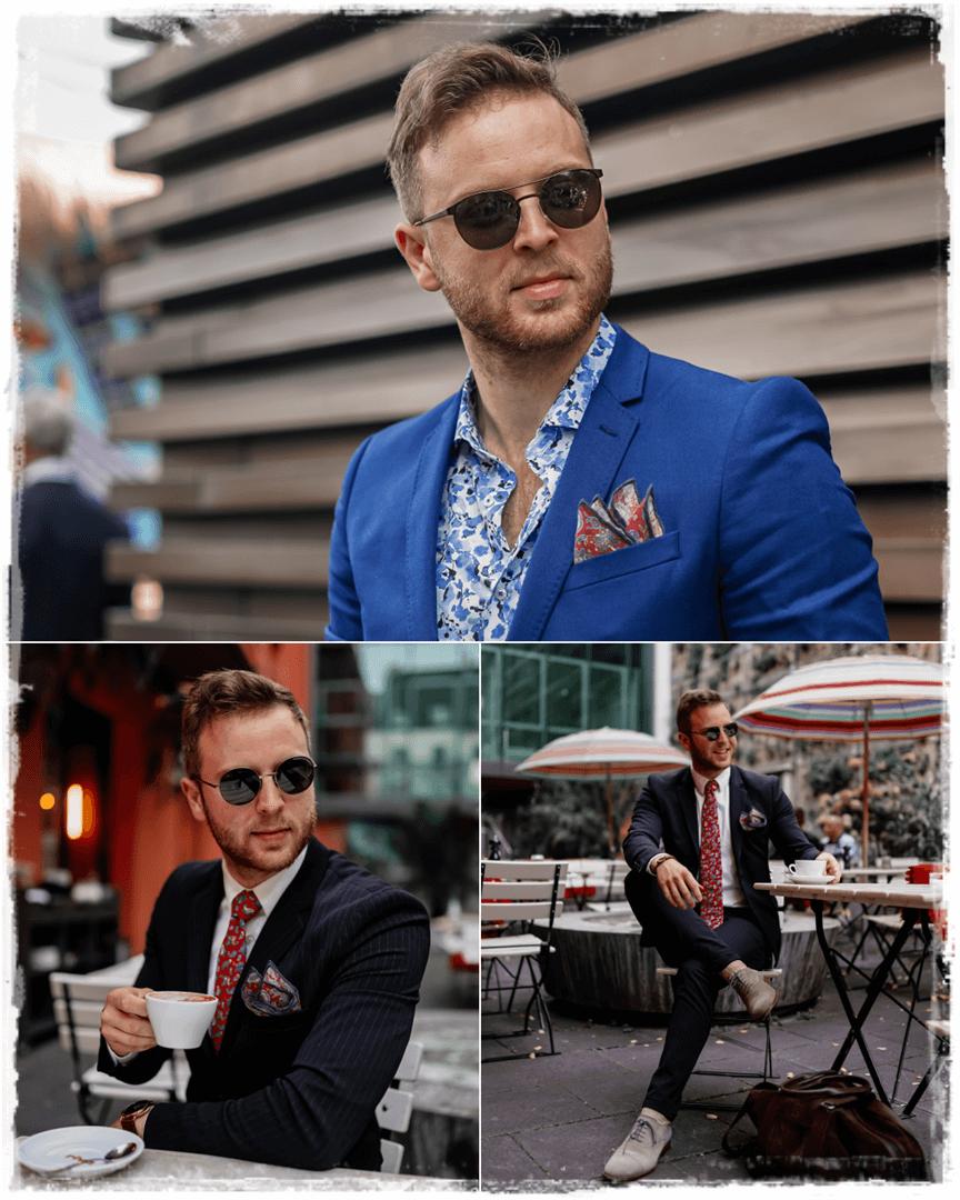 oben: Strellson Sonnenbrille, unten: Porsche Design P8631
